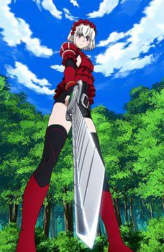 Hitsugi no Chaika Female Characters, Anime Characters, Fictional Characters, Chaika The Coffin Princess, Hitsugi No Chaika, Game Character, Character Design, Yamata No Orochi, Otaku