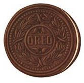 when the Oreo was first introduced by Nabisco in 1912, it used a much more organic wreath for its emboss, later augmented with two pairs of turtledoves in a 1924 redesign. The contemporary Oreo stamp was introduced in 1952. Article: http://www.theatlantic.com/health/archive/2011/06/who-invented-the-oreo-the-unsung-heroes-of-cookie-design/240357/
