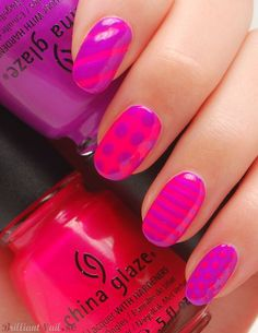 """Exceptional """"acrylic nail art designs ring finger"""" info is readily available on our web pages. Nail Art Violet, Purple Nail Art, Pretty Nail Art, Cute Nail Art, Pink Nails, Pink Purple, Hot Pink, Gel Nails, Orange Nails"""