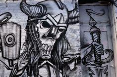 frosk   phrosk   graffiti   street art   all those shapes