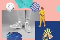 Adidas: La Gazelle by Leslie David
