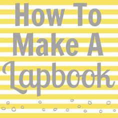 What is a lapbook and how to make one