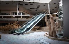 Abandoned Shopping Centers Photography