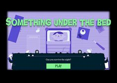 Something Under The Bed | CSS Website