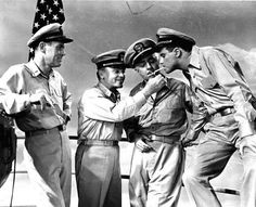 Henry Fonda, James Cagney, William Powell and Jack Lemmon ...Mr. Roberts