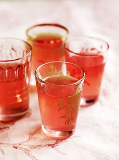 Make the most of rhubarb by preserving it's flavour in Debbie Major's easy rhubarb vodka recipe.