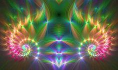 ReaLms Of Light ॐღ · Nov 20 Our perceived flaws usually turn out to be our greatest allies when we give them space to reveal their true purpose ♥ Facebook Cover Images, Puzzle Art, Rainbow Art, Flower Of Life, Brighten Your Day, Fractal Art, Beautiful Artwork, Psychedelic, Illusions
