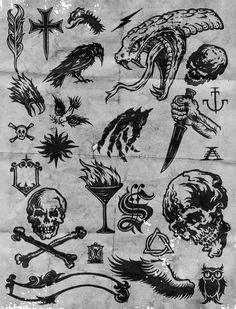 BW hand inks on Behance Sketch Tattoo Design, Tattoo Sketches, Tattoo Drawings, Tattoo Ink, Gothic Tattoo, Dark Tattoo, Traditional Black Tattoo, Traditional Tattoo Old School, Forarm Tattoos