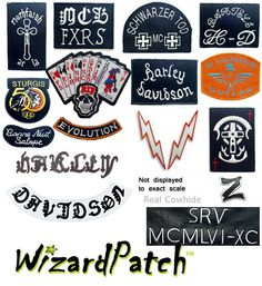 Harley Davidson And Marlboro Man Bikers Jacket Patches Harley Davidson Patches, Marlboro Man, Motorcycle Gear, Design Your Own, Jacket Patches, Man Jacket, Bikers, Helmets, Skulls
