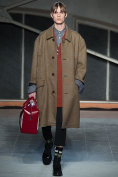 Raf Simons Deconstructs Preppy Style for Fall