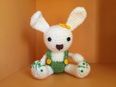 coniglietto Amigurumi tutorial - schema/How to crochet a rabbit Amigurumi - YouTube
