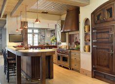 farm house kitchens | Formal Farmhouse kitchen | International Design Awards