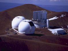 Keck and Subaru Telescopes