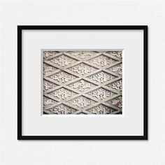 8x10 11x14 or 16x20. of Ornate Hearts in Vintage Architecture Soft Turquoise Photograph Not Framed