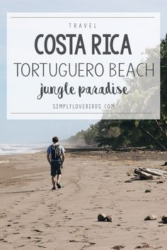 A Travel Guide to Tortuguero Beach: A Jungle Paradise in Costa Rica!   Simply Lovebirds