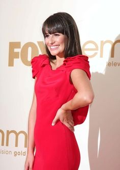 Lea in red!