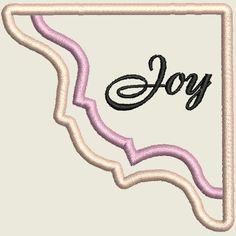 ITH Corner Bookmarks Joy Corner Bookmarks, Word Art, Blackwork, Machine Embroidery Designs, Quilt Blocks, Free Design, Alphabet, Joy, Crafty