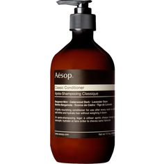 AESOP Classic conditioner 500ml (525.340 IDR) ❤ liked on Polyvore featuring beauty products, haircare, hair conditioner and aesop