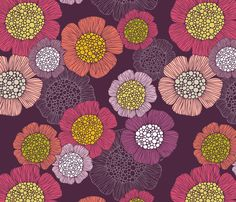 Reverie fabric by valentinaharper on Spoonflower - custom fabric