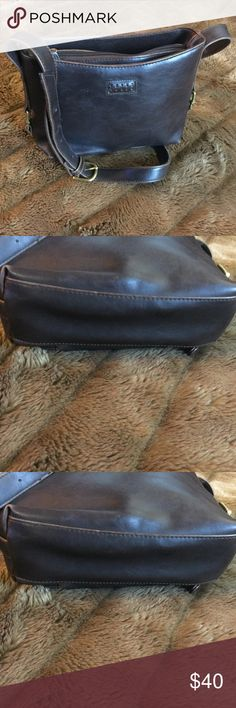 Crazy horse bag Small brown leather crazy horse in very nice condition crazy horse Bags Shoulder Bags