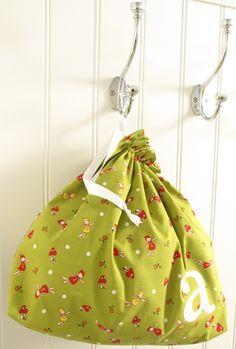 adorable drawstring bag