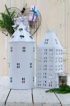 Lucerna Tower White 38 cm | Bella Rose