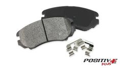 POSITIVE PLUS SEMI-METALLIC BRAKE PADS: Manufactured with the most advanced technology according to OEM specifications for superior and stable friction. Brake Parts, Oem, Metallic, Technology, Tech, Tecnologia