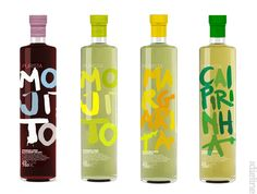 Great Purista Premium cocktail mixers #packaging PD