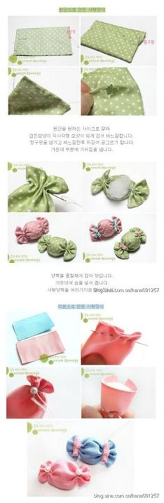 scented lolly sachets