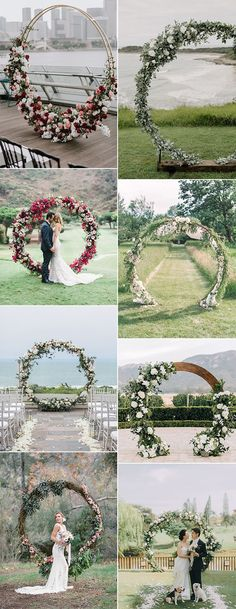 Trending-Top 20 Circular Wedding Arch Ideas for 2019 - Page 2 of 2 2019 trending circular wedding ar Wedding Bows, Wedding Favors, Diy Wedding, Wedding Bouquets, Wedding Ceremony, Wedding Flowers, Dream Wedding, Wedding Arches, Wedding Glasses