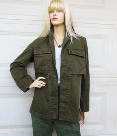 Check out this item in my Etsy shop https://www.etsy.com/listing/219231830/vintage-60s-herringbone-military-jacket