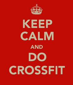 CrossFit can be calming