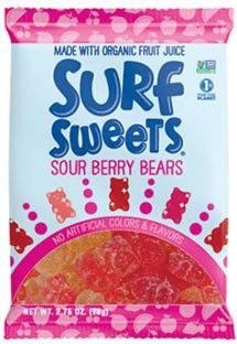 Surf Sweets - Vegan Organic Sour Berry Bears #vegan