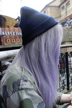 """hair with color ~ really complements the """"grunge"""" look. I'm going for a little brighter and maybe more pink"""
