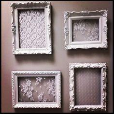 DIY Project: LaceFrames
