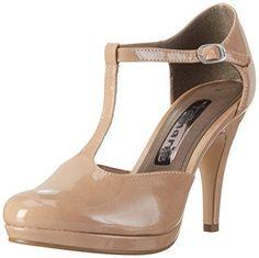 Oferta: 34€. Comprar Ofertas de Tamaris 24428, Zapatos de Tacón para Mujer, Beige (Nude Patent 253), 40 EU barato. ¡Mira las ofertas!