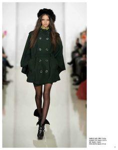 Candice cape, Eleanor top & Piper bootie #NMFallTrends
