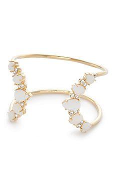 kate spade new york® Seastone Sparkle Cuff Bracelet - Belk.c