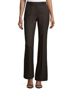 Jotsna Cavalry Twill Flare Pants, Armadillo, Women's, Size: 4 - Theory