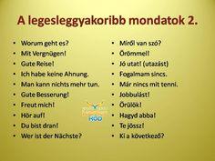 KEZDŐ VAGY? Ezeket tanuld meg elsőként. Learn German, Learn English, German Grammar, German English, German Language Learning, Mathematics, Knowledge, Positivity, Writing