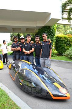 Boca Bearings sponsored Team #65 competed in the Shell #Eco Marathon