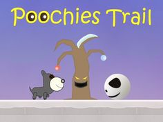 Poochie is lost and only you can help him!   Help your furry friend through 3 worlds using his super bark by tapping the screen in order to defeat his enemies and help him find home. Making his way past the mean blobs trying to block his path and using items such as jump pads and bubbles to explore; all in order find his home, collecting some bones along the way.  Our website: http://www.dojit.com/games/