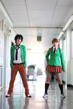 Haru Yoshida & Shizuku Mizutani - Tonari no Kaibutsu-kun (となりの怪物くん) Couples Cosplay, Epic Cosplay, Cosplay Dress, Amazing Cosplay, Cosplay Outfits, Anime Couples, Cosplay Costumes, My Little Monster, Little Monsters