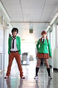 Haru and Shizuku | Tonari no Kaibutsu-kun