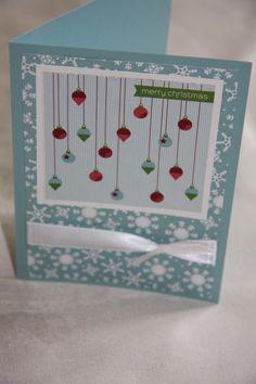 Christmas card Christmas Card Stampin Up