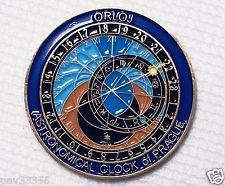 2006 Prague Astronomical Clock - Antique Bronze Finish - New Geocoin Unactivate