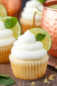 These Moscow Mule Cupcakes are so fun – just like the cocktail! A moist ginger cupcake is topped with a ginger-lime frosting and I love them so much! So lately I have become obsessed with Moscow Mules. I never ever thought I'd be into them because of the ginger beer. First of all, I don't …