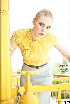 #yellow #deborahannwoll