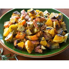 The delicious combination of sweet seasoned kumara, crispy bacon and juicy burnt orange segments makes for a mouth-watering warm salad that can be a meal in and of itself!