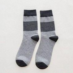 New Hot-sell Socks Men Funny Autumn-winter Colorful Brand Cotton Socks Mens And Womens Fashion Skateboard Black White Socks Modern Design Underwear & Sleepwears